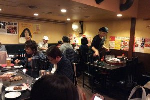 Seafood and bacon okonomiyaki