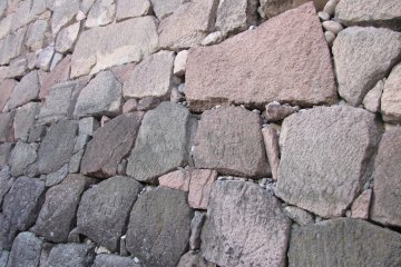 The castle boasts the biggest variety of stone walls of all the castle's in Japan