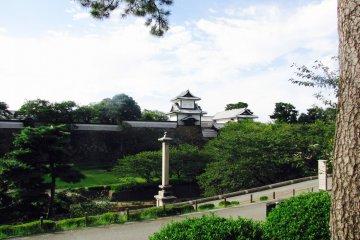 The Castle Park from Kenroku Garden