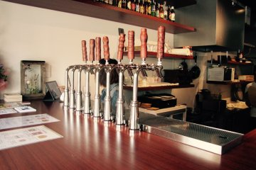 Choose from one of their many on-tap beers