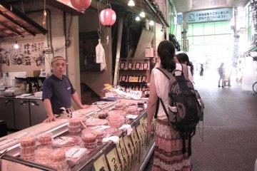Рынок Оми-тё в Канадзава