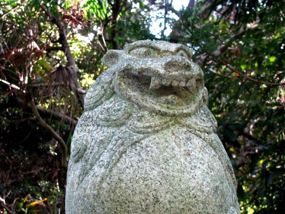 Komainu ở Kyoto