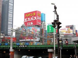 Shinjuku in the morning