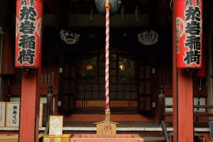 Main building inside the shrine