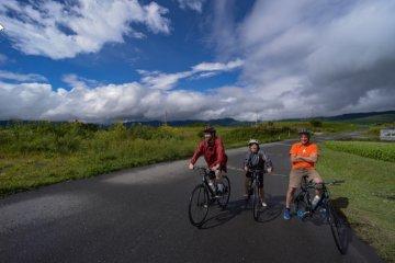 A tour with Yatsugatake Cycling