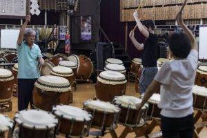 Sala de prática de Osuwa Daiko
