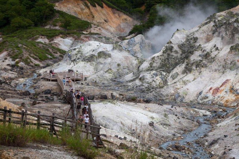 Jigokudani In Noboribetsu Hokkaido Japan Travel