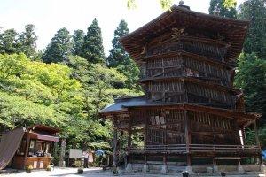 Sazaedou em Iimoriyama