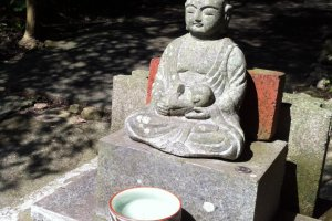 A little Buddha sitting in the sun