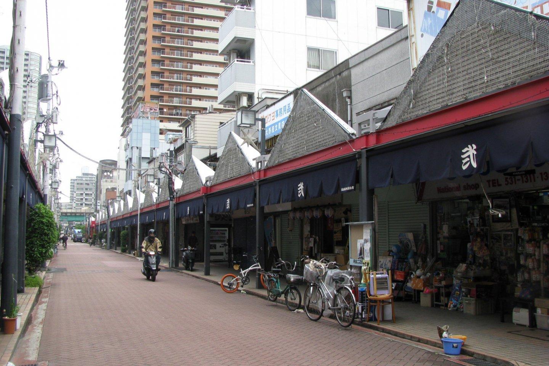 Trung tâm mua sắm ở Tsukishima.