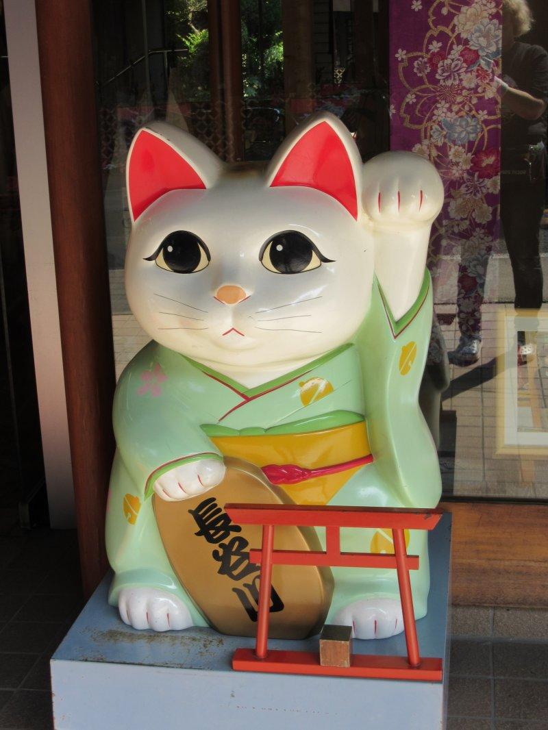 Greeting cat - Maneki neko desu