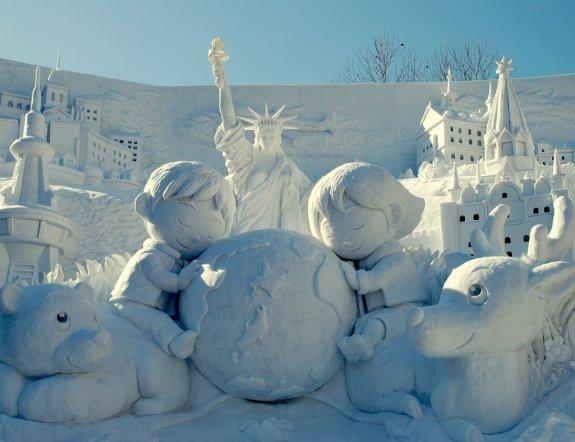 Festival de la neige à Sapporo
