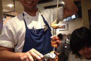 Tandoor chicken is the best pick on the menu
