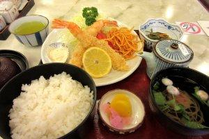 Good Japanese dinner