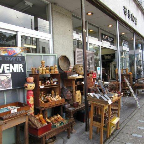 Антикварный магазин Rondo в Никко