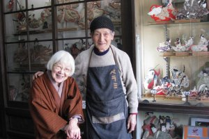 The Mimura family founded the shop in the 1950's