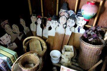 В магазине можно увидеть заготовки кукол