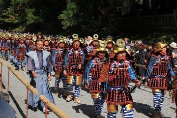 Большой летний фестиваль в храме Никко Тосёгу