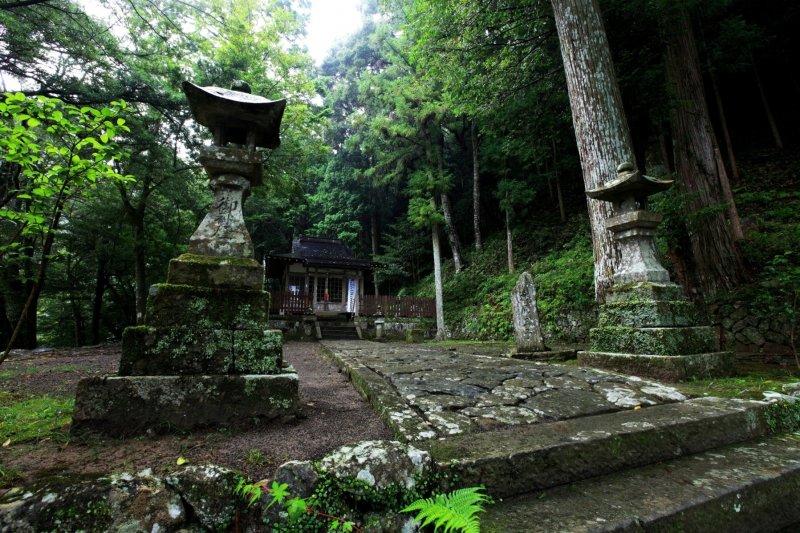 Takijiri-oji shrine along the Kumano Kodo pilgrimage route
