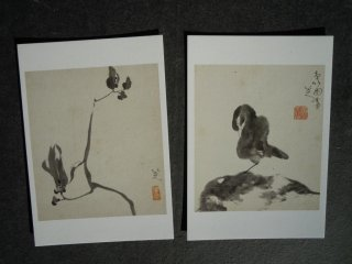 Chinese paintings 1 - A beautiful flower and a bird
