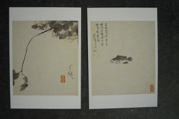 Chinese paintings 3 - Water lily and fish