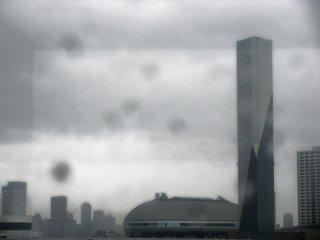 Ghostly buildings