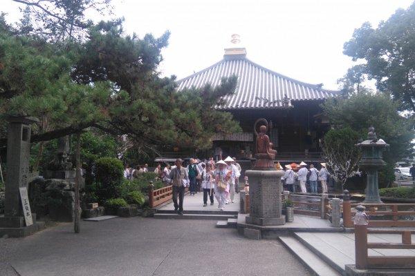 Henro at Ryozenji