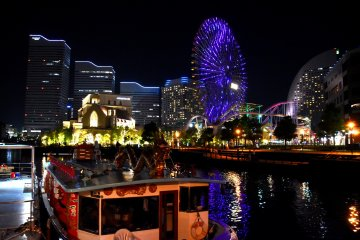Yokohama Bayside Nightwalk