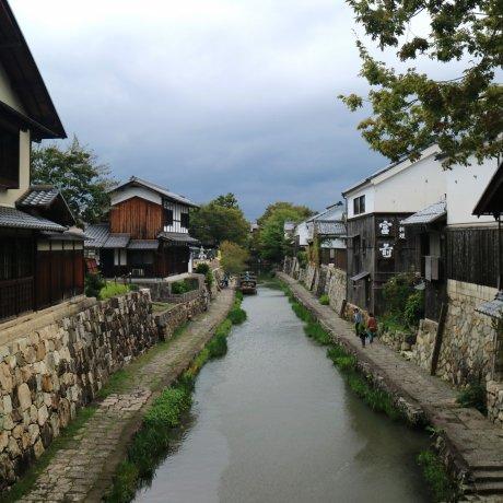 Hachiman-bori Canal Boat Ride