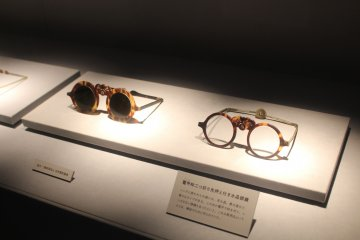 Early glasses brought over from China