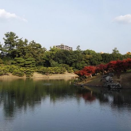 Parque Ritsurin, Takamatsu