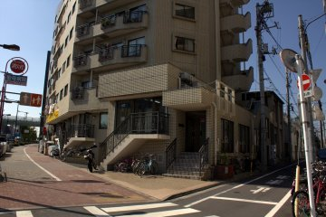 Entrance to Sharehouse Ikebukuro