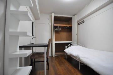 3rd floor apartment bedroom