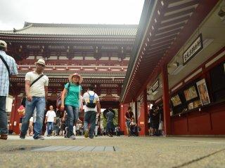 معبد أساكوسا، طوكيو