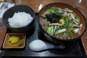 Mỳ Soba tuyệt hảo ở Shimane