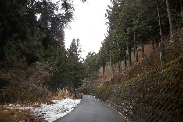 Start of hiking trail