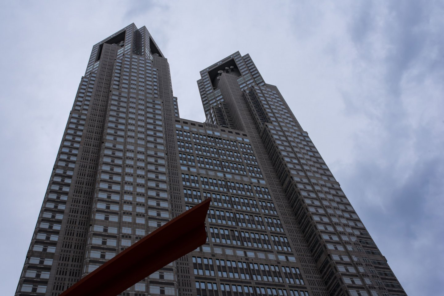Towering over the west Shinjuku district