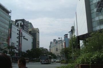Near Okayama Station