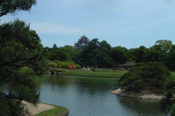 Korakuen Garden Pond