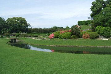 Korakuen Garden view