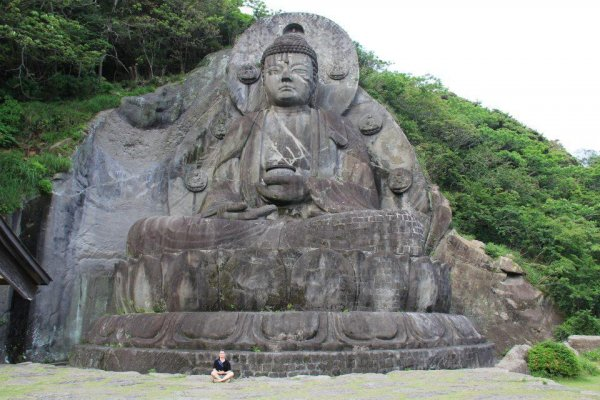 One of the largest Buddha statues in Japan