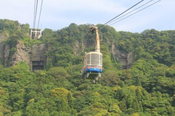 There is a ropeway to the top, and plenty of hiking once you arrive
