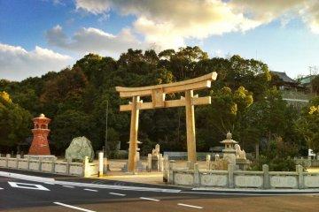 Tamao Hachiman Shrine in Imabari