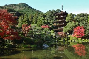 Rurikoji is famous for having one of Japan's 'Top 3' pagodas
