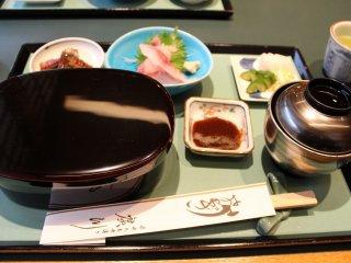 ¥3900のうな重定食