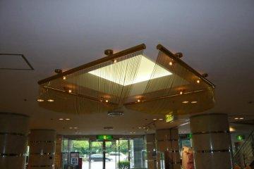 The lobby of the Tokyo Dai-ichi hotel