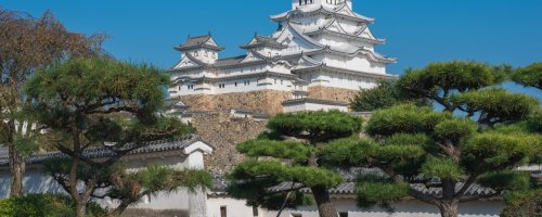 The White Heron Castle of Himeji