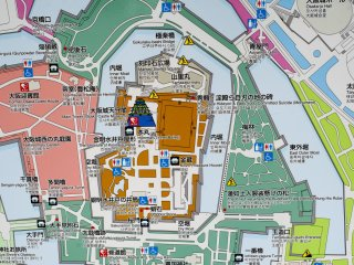 Osaka Castle Gardens Osaka Japan Travel Japan Tourism Guide