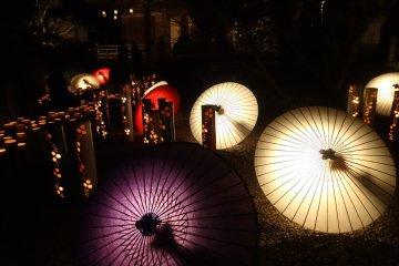 야마가 겨울 전등 축제