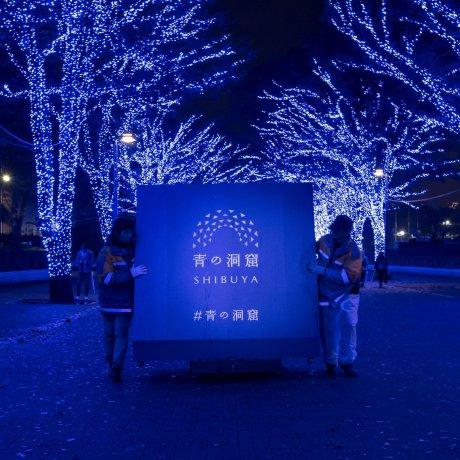 Shibuya Blue Cave Illumination